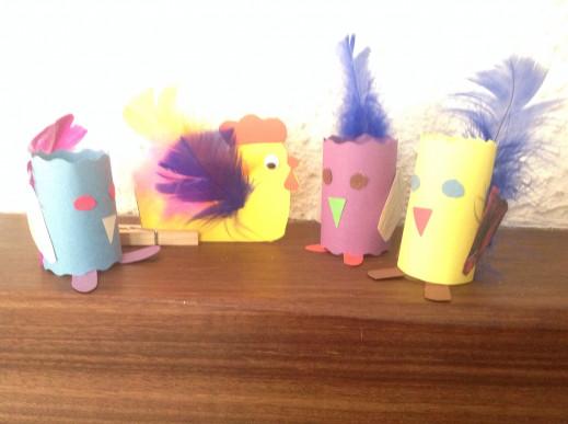 Petites poules en vadrouille