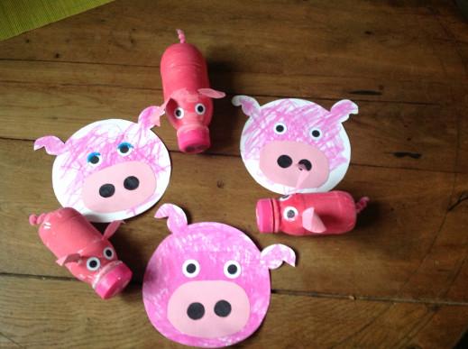 Les petits cochons