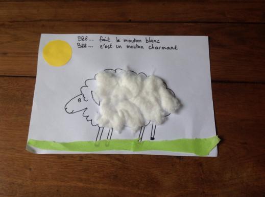 Mon mouton est habillé pour l'hiver
