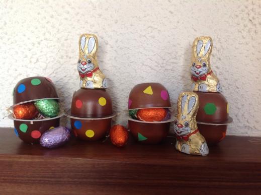 La bonbonnière pour Pâques