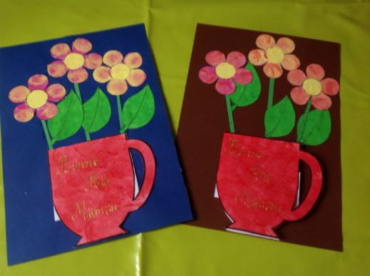 Le vase et ses fleurs